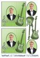 Barto Design 3D Klippark - Kille m gitarr