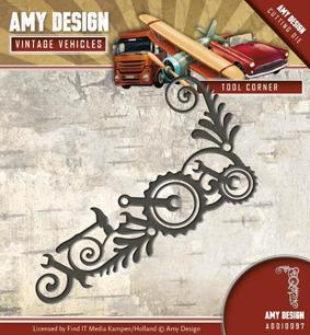 Amy Design Dies - Vintage Vehicles - Tool Corner - Amy Design Dies - Vintage Vehicles - Tool Corner
