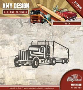 Amy Design Dies - Vintage Vehicles - Truck - Amy Design Dies - Vintage Vehicles - Truck