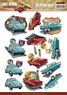 Amy design 3D Utstansat  - Vintage Vehicles - Bilar - Amy design 3D Utstansat  - Vintage Vehicles - Bilar