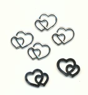 Charms - Silverhjärtan 1,5 cm - Charms - Silverhjärtan 1,5 cm