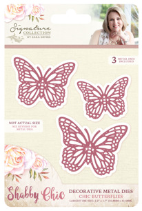 Crafters Companion Dies - Chic Butterflies - Crafters Companion Dies - Chic Butterflies