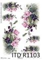 Itd Collection - Rice decoupage paper R1103 A4