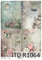 Itd Collection - Rice decoupage paper R1064 A4