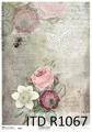 Itd Collection - Rice decoupage paper R1067 A4