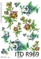 Itd Collection - Rice decoupage paper R0969 A4