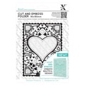Xcut Cut & Embossingfolder - Heart frame
