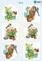 Marianne Design Klippark - Birds, Vk9554