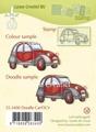 LeCreà Doodle stamps - Doodle Car/DCV