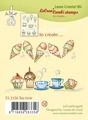 LeCreà Combi stamps - Tea Time