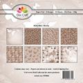 Dixi Craft Pappersblock - Butterflies/Brown