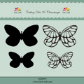 Dixi Craft Dies & Clearstamps – Butterflies