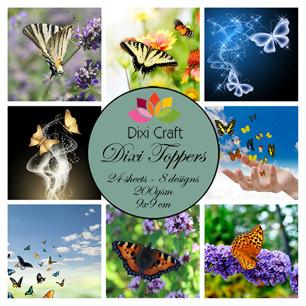 Dixi Toppers -  Fjärilar - Dixi Toppers -  Fjärilar