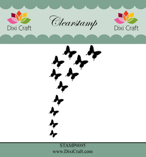 Dixi Craft - Clearstamp Butterfly Burst - Dixi Craft - Clearstamp Butterfly Burst