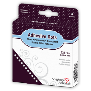 Adhesive Dots Micro 325 st/pkt - Adhesive Dots Micro 325 st/pkt x 2 st