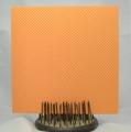 Gummiapan papper - Småprickigt, orange - 5 st