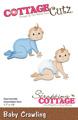 Cottage Cutz Dies - Baby Crawling