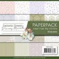 Precious Marieke Pappersblock - Fantastic Flowers