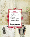 Felicita design Toppers - Will you marry me