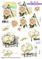 Le Suh 3D Utstansat - Blommor