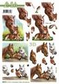 Le Suh 3D Utstansat - Hästar