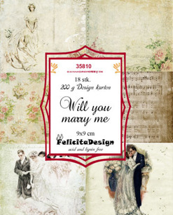 Felicita design Toppers - Will you marry me - Felicita design Toppers - Will you marry me