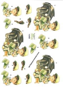 Dan design 3D Klippark - Bilmekaniker - Dan design 3D Klippark - Bilmekaniker
