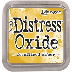 Distress Oxide - Fossilized Amber - Tim Holtz/Ranger - Distress Oxide - Fossilized Amber - Tim Holtz/Ranger