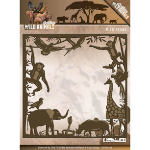 Amy Design Dies - Wild Animals - Wild frame - Amy Design Dies - Wild Animals - Wild frame