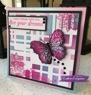 Crafter's Companion Foil Roll - Raspberry Pink