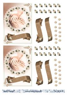 Barto Design 3D Klippark - Förlovnings- eller bröllopsmotiv - Barto Design 3D Klippark - Förlovnings- eller bröllopsmotiv