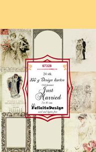 Felicita design Toppers - Just Married - Felicita design Toppers - Just Married