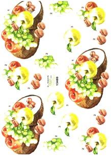 Dan design 3D Klippark - Frukt - Dan design 3D Klippark - Frukt