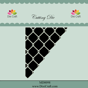 Dixi Craft Dies - Wire Corner inside cut - Dixi Craft Dies - Wire Corner inside cut