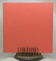 Gummiapan papper - Småprickigt, röd - 5 st
