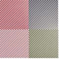 Gummiapan papper - Snedrandigt 4 färger - 8 st