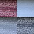 Gummiapan papper - God Jul på olika språk -4 färger - 8 st