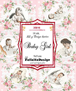 Felicita design Toppers - Baby Girl - Felicita design Toppers - Baby Girl