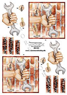 Dan-Quick 3D Klippark - Handyman - Dan-Quick 3D Klippark - Handyman