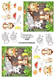 Dan-Quick 3D Klippark - Skogens djur - Dan-Quick 3D Klippark - Skogens djur