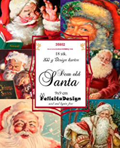 Felicita design Toppers - Dear old Santa - Felicita design Toppers - Dear old Santa