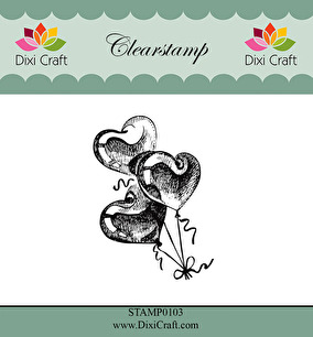 Dixi Craft - Clearstamp - Balloons - Dixi Craft - Clearstamp - Balloons