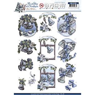 Amy Design 3D Utstansat - Julmotiv - Amy Design 3D Utstansat - Julmotiv