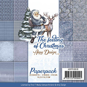 Amy Design Pappersblock - The feeling of Christmas - Amy Design Pappersblock - The feeling of Christmas