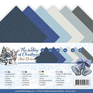 Amy Design - Pappersblock - A5 - The feeling of Christmas - Amy Design - Pappersblock - A5 - The feeling of Christmas