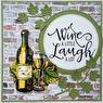 Easy 3D Utstansat - Wine Tasting