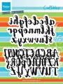 Marianne Design Dies - Brush Alphabet