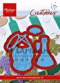 Marianne Design - Dies - Tiny's Italian wine bottle