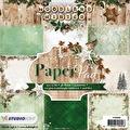 Studiolight Pappersblock, 170 gr - Woodland Winter 1