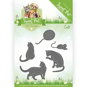 Amy Design Dies - Sweet Pet Cats - Amy Design Dies - Sweet Pet Cats